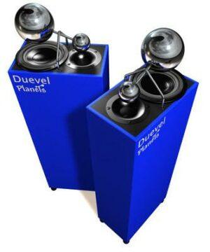 duevel-planets-bleu-enceintes-holograhiques