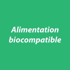 Alimentation biocompatible